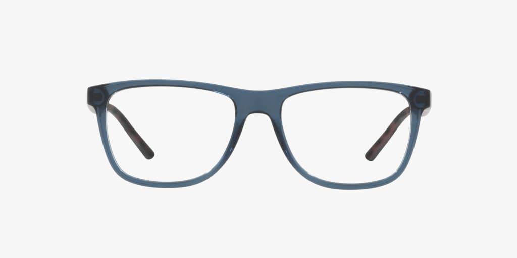 Armani Exchange AX3048 Shiny Blue Eyeglasses