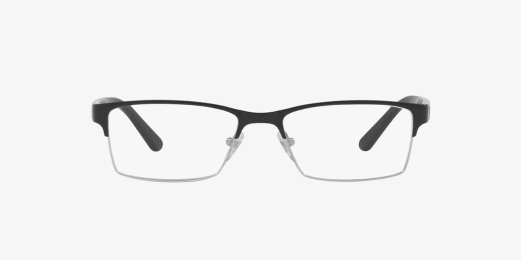 Sferoflex SF2289 Black On Silver Eyeglasses