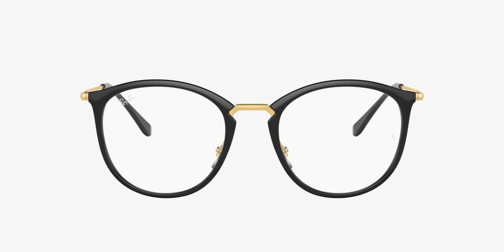 Ray-Ban RX7140 Black Eyeglasses