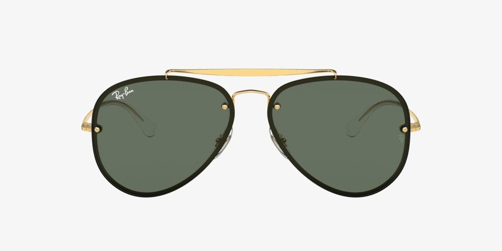 Ray-Ban RB3584N 58 Gold Sunglasses