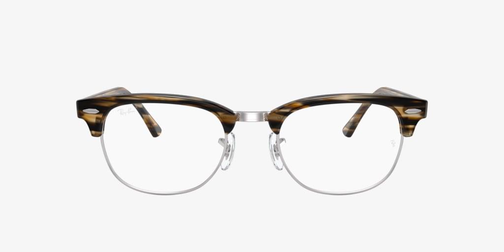 Ray-Ban RX5154 Brown/Grey Striped Eyeglasses