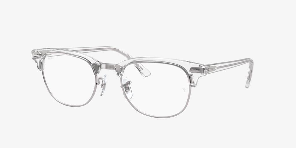 Ray-Ban RX5154 White Transparent Eyeglasses