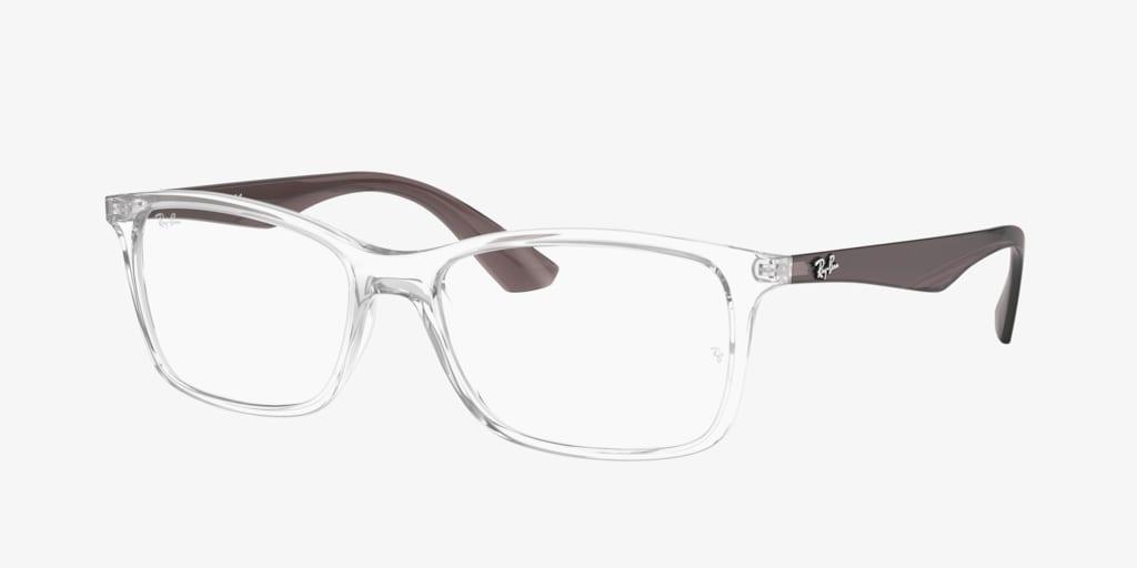 Ray-Ban RX7047 Transparent Eyeglasses