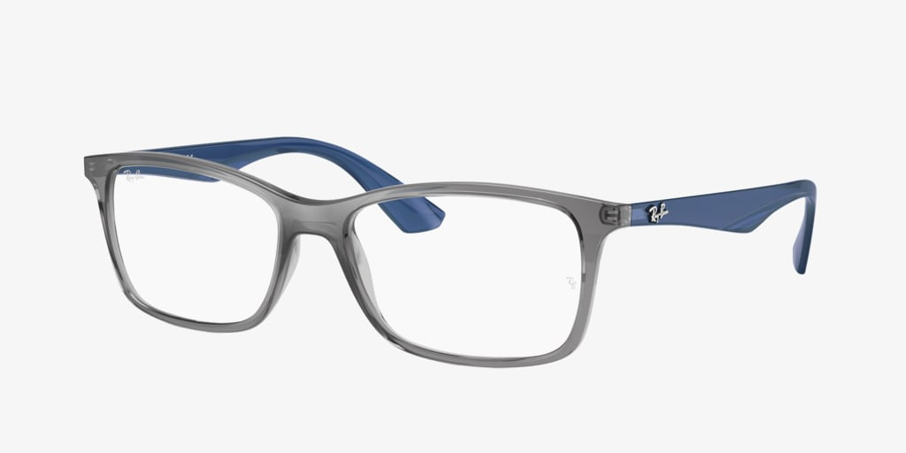 Ray-Ban RX7047 Transparent Grey Eyeglasses