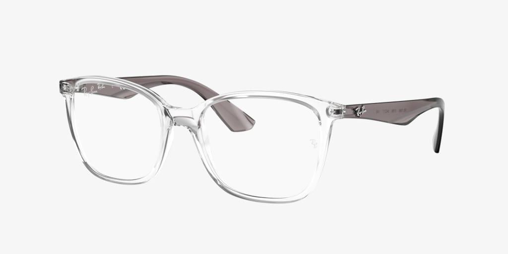 Ray-Ban RX7066 Transparent Eyeglasses
