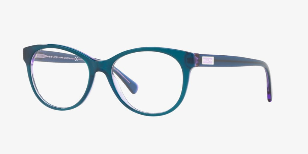 Ralph RA7094 Shiny Purple On Violet Eyeglasses