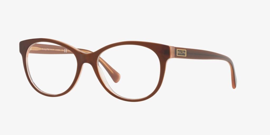 Ralph RA7094 Shiny Brown Eyeglasses