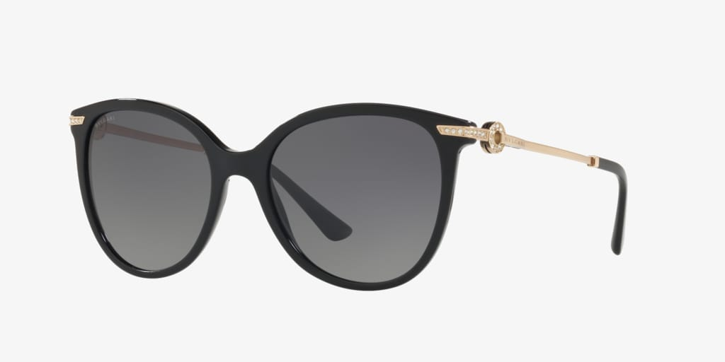 Bulgari BV8201B 55 Black Sunglasses