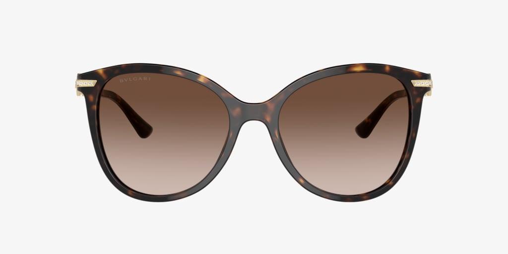 Bulgari BV8201B 55 Dark Havana Sunglasses
