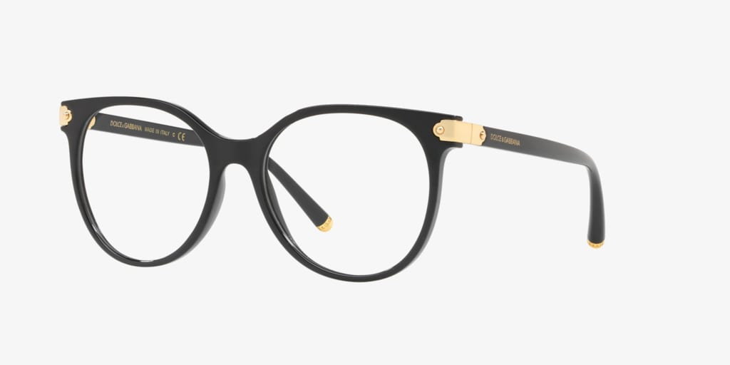 Dolce&Gabbana DG5032 Black Eyeglasses