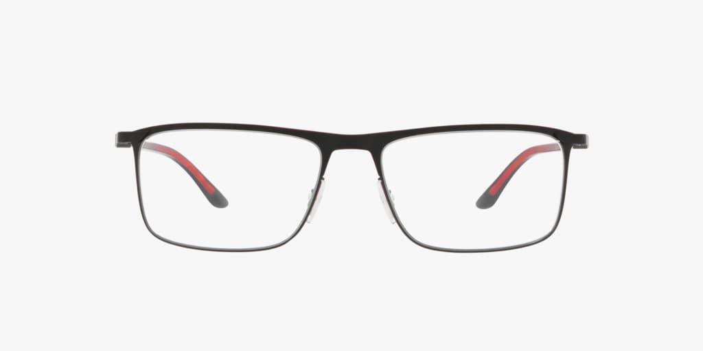 Starck Eyes SH2030 Matte Black/Red Eyeglasses