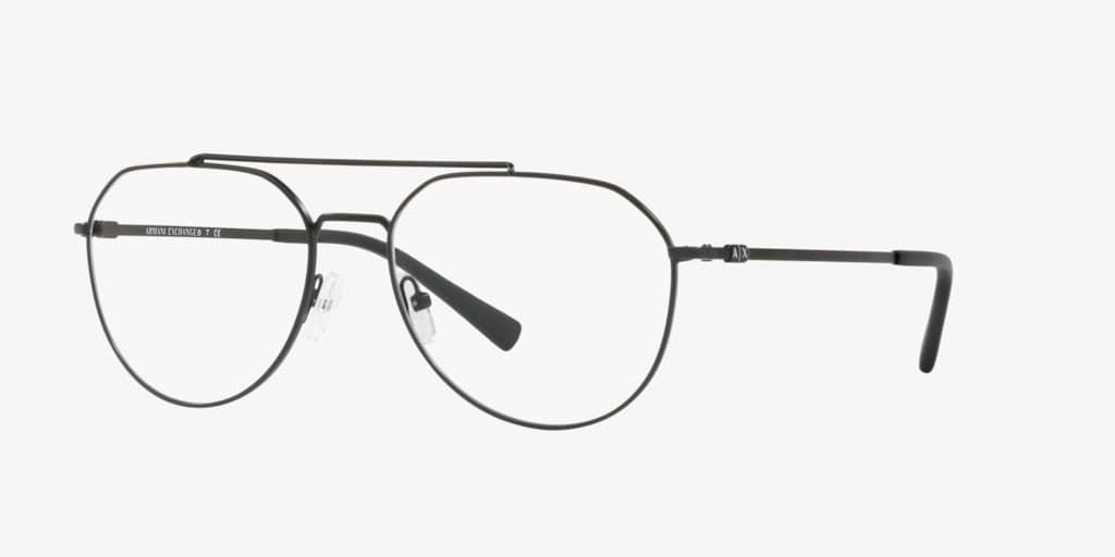 Armani Exchange AX1029 Matte Black Eyeglasses
