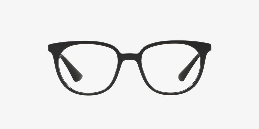 Prada PR 13UVF Black Eyeglasses