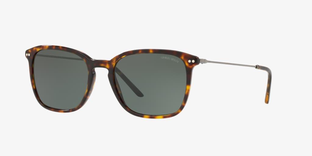 Giorgio Armani AR8111 54 Dark Havana Sunglasses