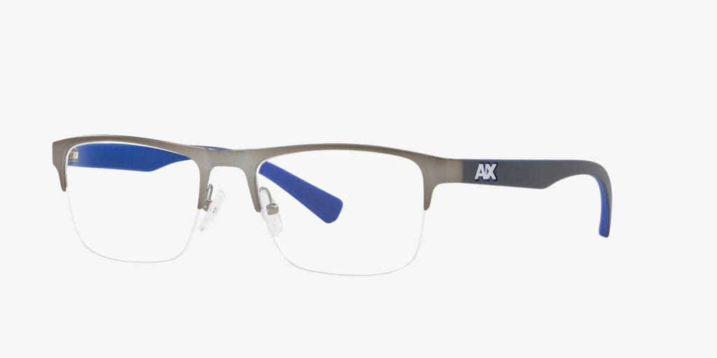 Armani Exchange AX1031 Matte Gunmetal Eyeglasses