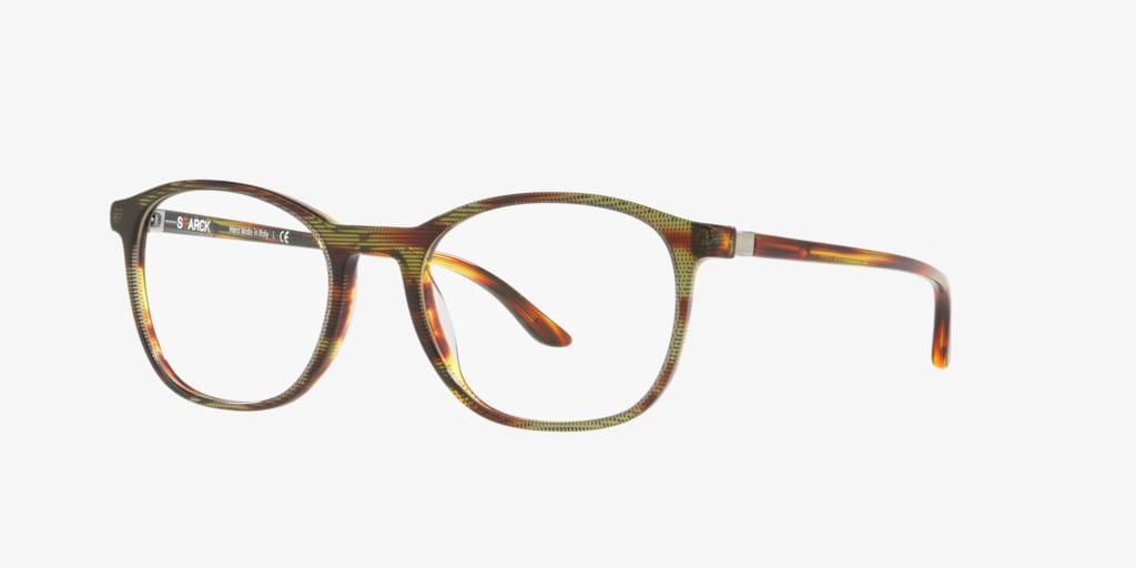 Starck Eyes SH3045 Havana/Red/Yellow/Black Eyeglasses
