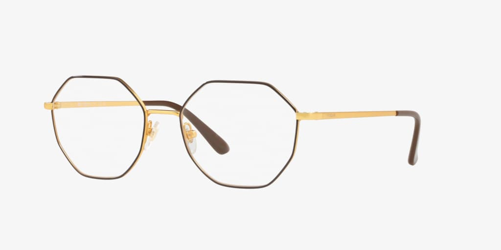 Vogue VO4094 Brown On Pale Gold Eyeglasses