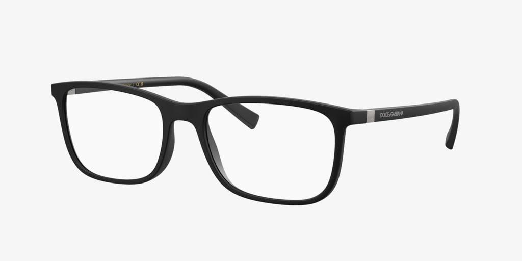 Dolce&Gabbana DG5027 Matte Black Eyeglasses