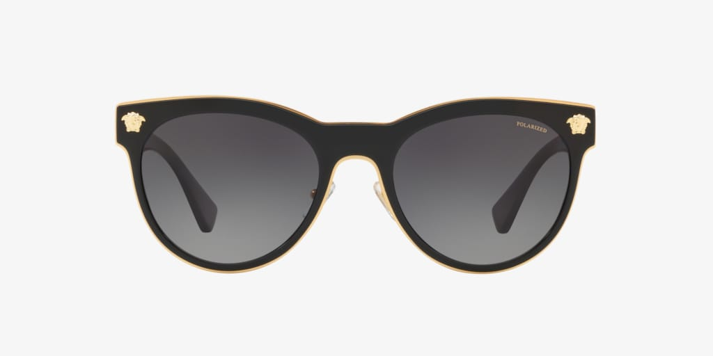 Versace VE2198 54 MEDUSA CHARM Black Sunglasses