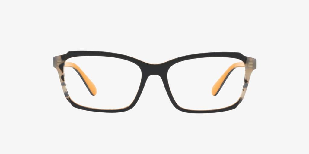 Prada PR 01VV Blue/Yellow/Grey Havana Eyeglasses
