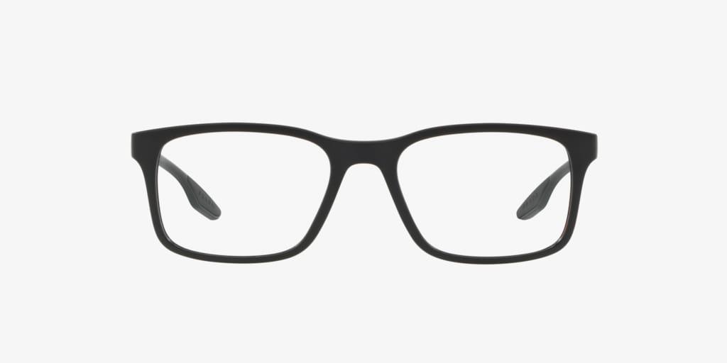 Prada Linea Rossa PS 01LV LIFESTYLE Matte Black Eyeglasses