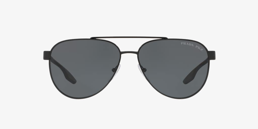 Prada Linea Rossa PS 54TS 58 LIFESTYLE Black Sunglasses
