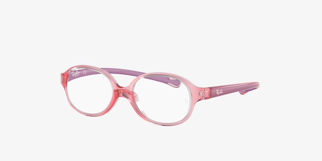 Ray-Ban Jr RY1587 Transparent Light Red Eyeglasses