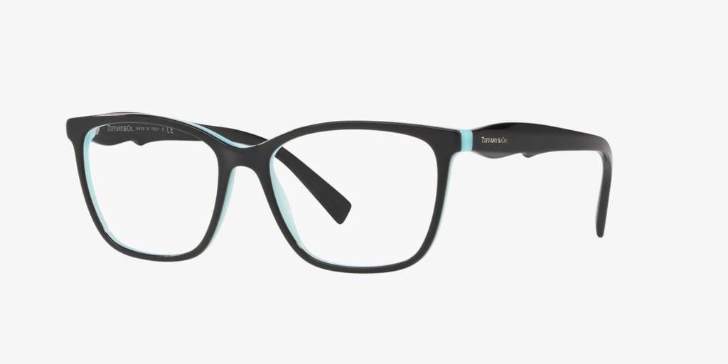 Tiffany TF2175 Black on Tiffany Blue Eyeglasses