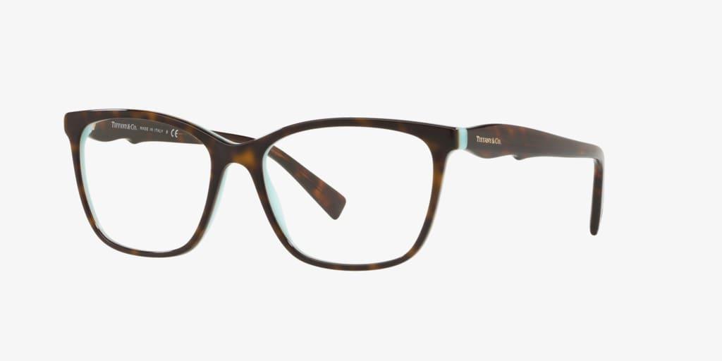 Tiffany TF2175 Havana on Tiffany Blue Eyeglasses