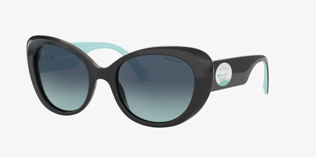 Tiffany TF4153 54 Black Sunglasses