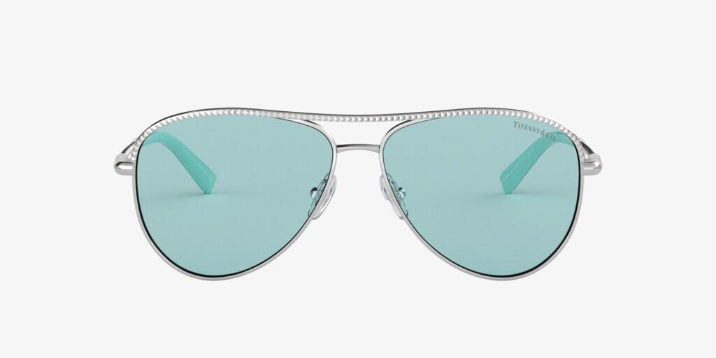 Tiffany TF3062 57 Silver Sunglasses