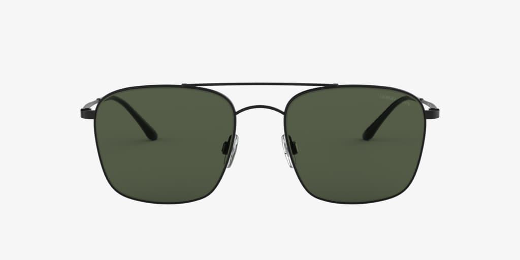 Giorgio Armani AR6080 55 Matte Black Sunglasses