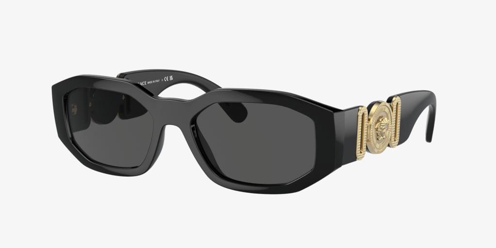 Versace VE4361 53 Black Sunglasses