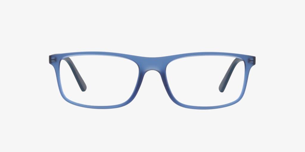 Polo Ralph Lauren PH2197 Matte Transparent Blue Eyeglasses