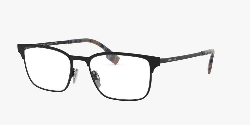 Burberry BE1332 Black Rubber Eyeglasses