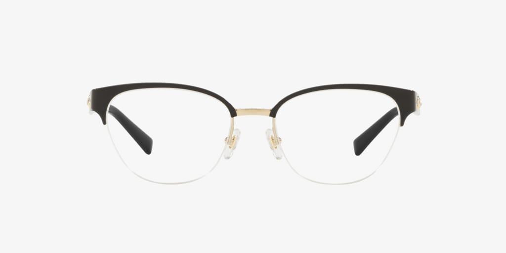Versace VE1255B Black/Gold Eyeglasses