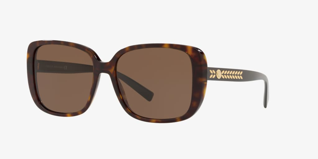 Versace VE4357 56 Tortoise Sunglasses