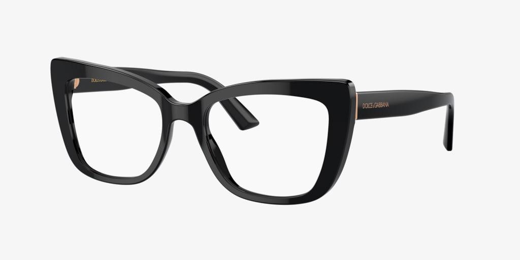 Dolce&Gabbana DG3308 Black Eyeglasses