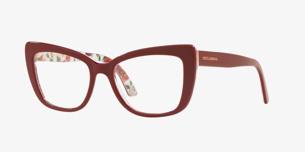 Dolce&Gabbana DG3308 Bordeaux Eyeglasses