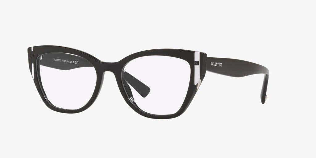 Valentino VA3029 Black/Crystal Eyeglasses