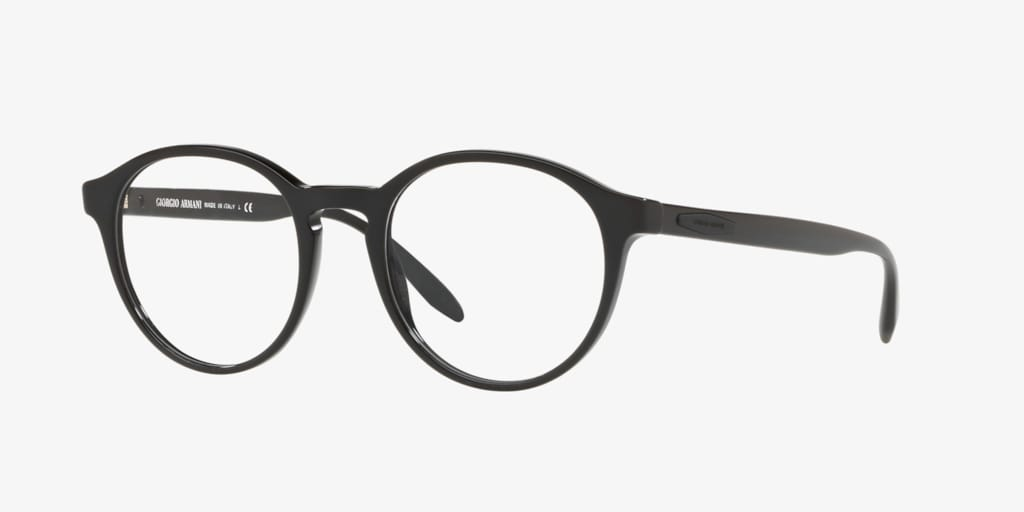 Giorgio Armani AR7162F Black Eyeglasses