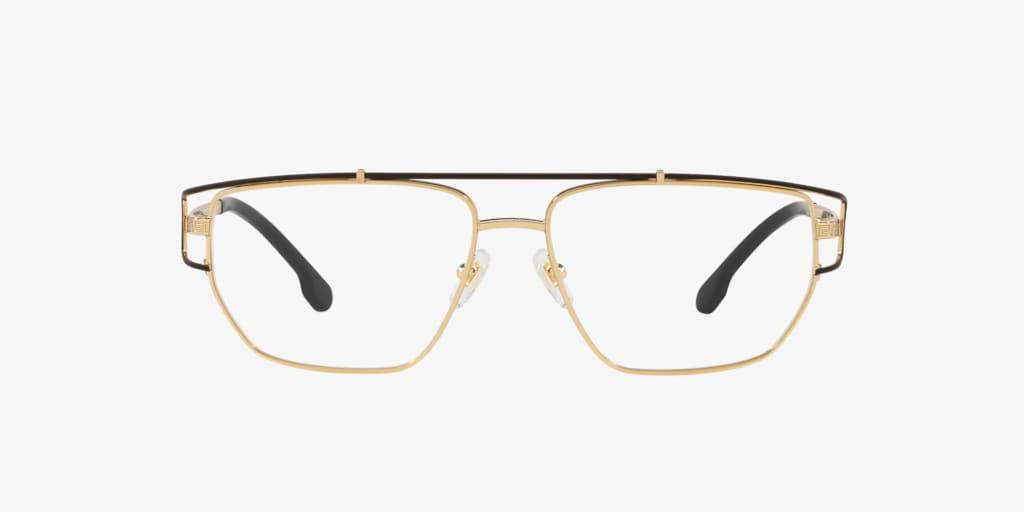 Versace VE1257 Gold/Black Eyeglasses
