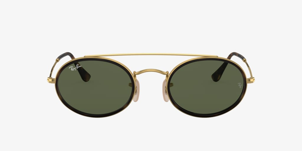 Ray-Ban RB3847N 52 Gold Sunglasses