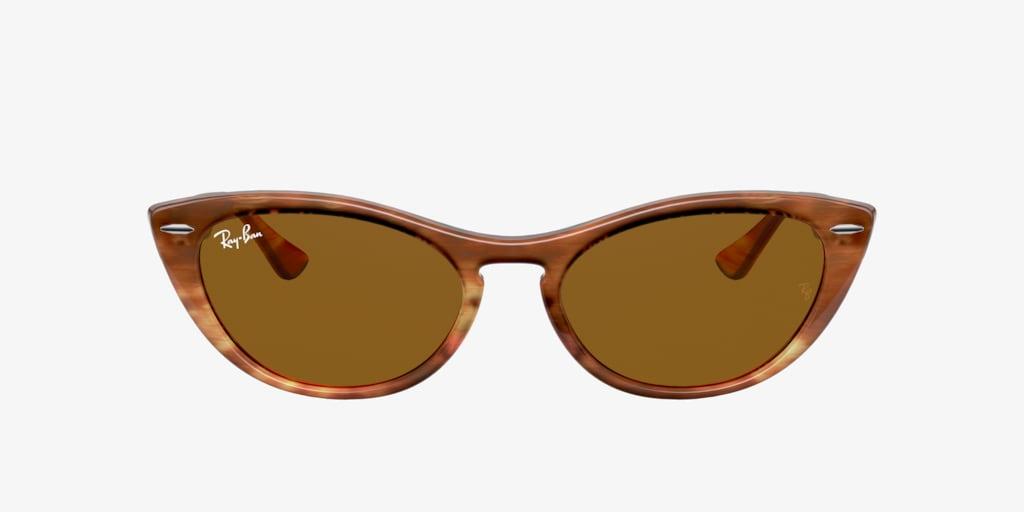 Ray-Ban RB4314N 54 NINA Striped Havana Sunglasses