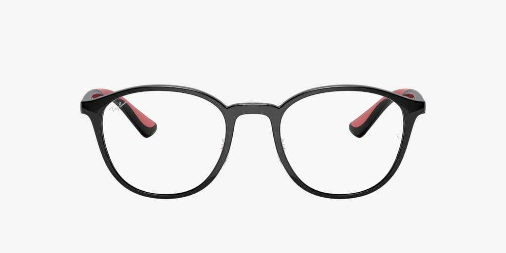 Ray-Ban RX7156 Black Eyeglasses