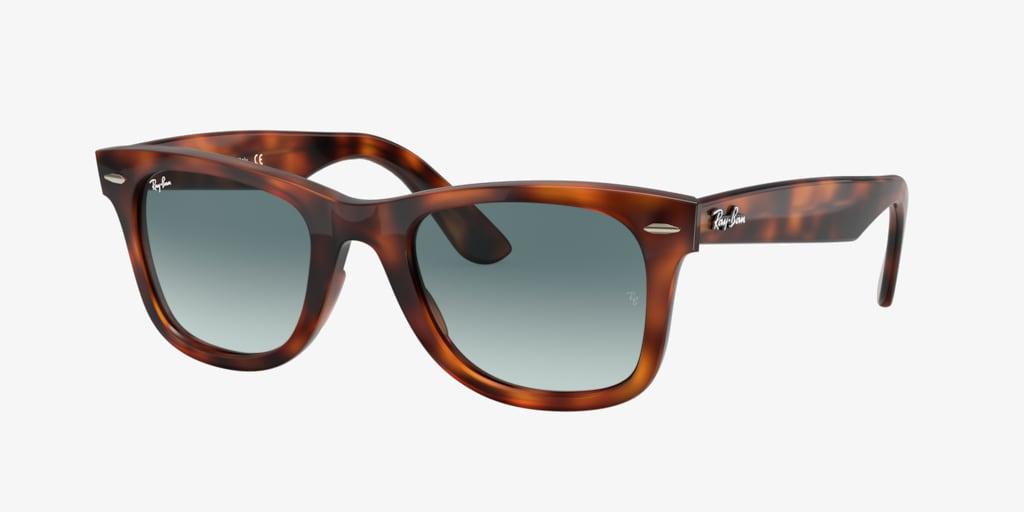 Ray-Ban RB4340 50 WAYFARER Red Havana Sunglasses