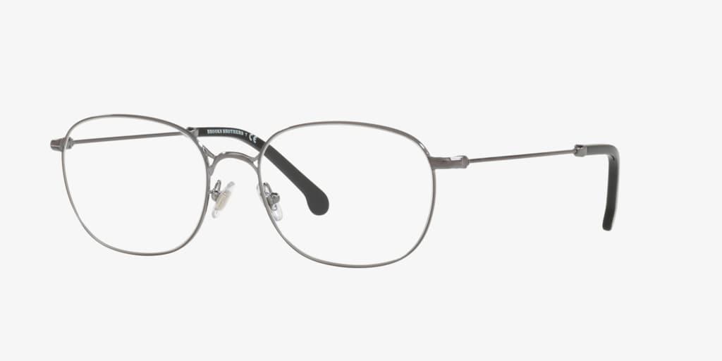 Brooks Brothers BB1064 Shiny Dark Gunmetal Eyeglasses