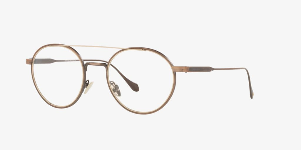Giorgio Armani AR5089 Brushed Bronze/Matte Pale Gold Eyeglasses