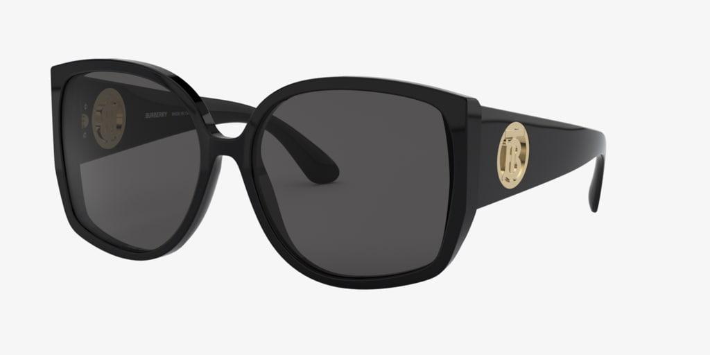 Burberry BE4290 61 Black Sunglasses
