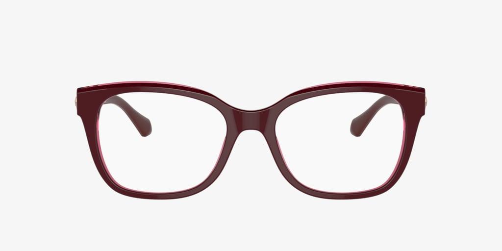 Bulgari BV4172B Bordeaux On Transparent Red Eyeglasses